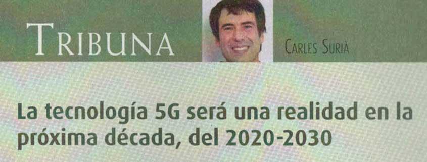 5G será una realidad en 2020