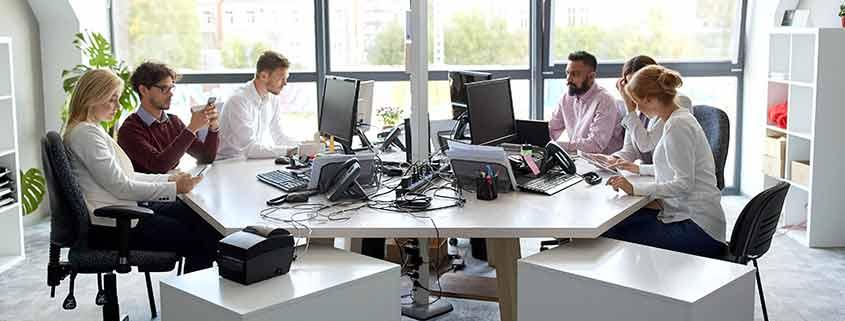Trabajar con radiaciones en un despacho