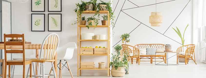 Mobles naturals de fusta