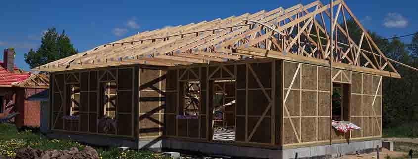 Bioconstrucció, casa de palla