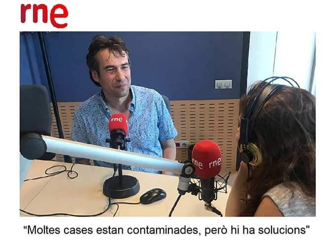 Entrevista a Carles Surià als estudis de RTVE