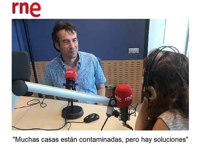 Entrevista a Carles Surià en los estudios de RTVE