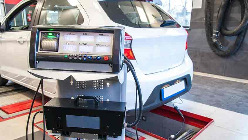 inpecció tècnica de vehicle